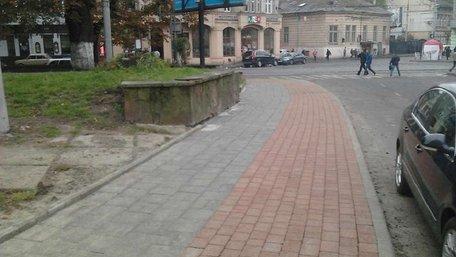 На вул. Митрополита Андрея у Львові відтепер є велодоріжка