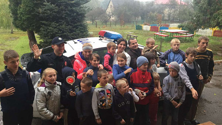 Діти-сироти закликали водіїв Львова бути обережними на дорозі