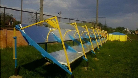 Український розробник наддешевої сонячної теплостанції безкоштовно показав свої креслення