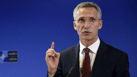 НАТО не припинятиме підтримувати Україну – Столтенберґ