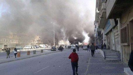 Щонайменше 46 осіб загинуло внаслідок подвійного теракту в сирійському Хомсі