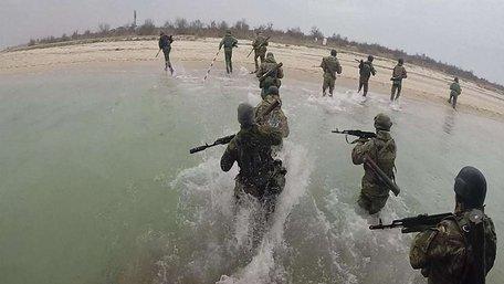 Одеські морпіхи провели першу навчальну десантну операцію