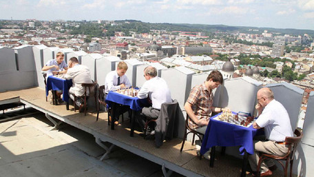 До чемпіонату світу львівські ресторани запровадили «шахове меню»