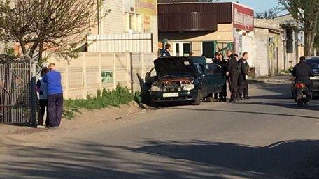 На Херсонщині поліція знешкодила автомобіль з вибухівкою