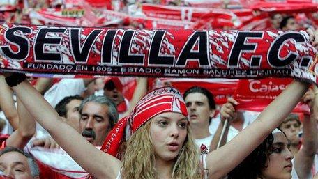 Фанати іспанської «Севільї» не прилетіли на матч півфіналу Ліги Європи до Львова