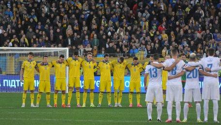 Збірна України з футболу зберегла 22 місце у рейтингу ФІФА