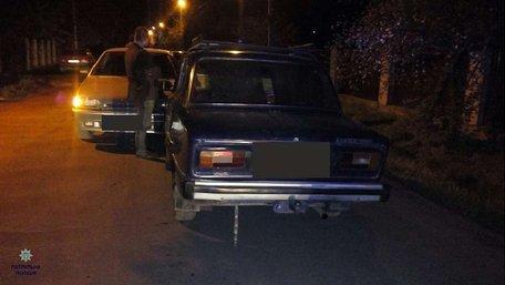 Неподалік Львова за ДТП покарали обидвох водіїв