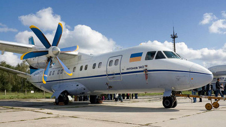Росія хоче купити ліцензію на виробництво українського літака Ан-140