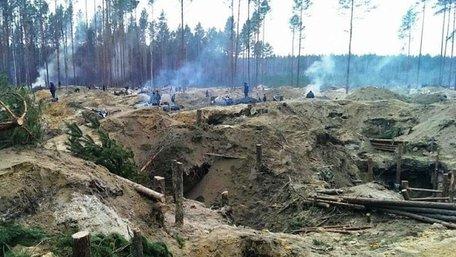 На Рівненщині незаконним видобутком бурштину займаються близько 10 тис. осіб, – Семерак