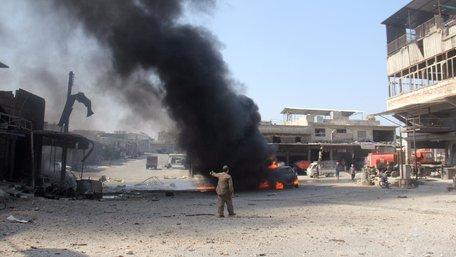 У Сирії смертник підірвав автобус, загинули 15 людей