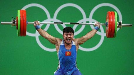 Киргизький важкоатлет став першим виключеним за допінг призером Олімпіади в Ріо