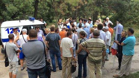 В окупованому Сімферополі поліція розігнала мітинг «Обманутий Крим»