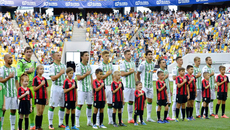 Футболісти «Карпат» привітали фанатів із Днем незалежності віршем Володимира Сосюри