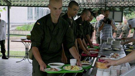 У Нацгвардії ввели новий раціон харчування особового складу