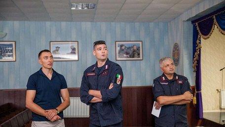Італійські карабінери розпочали підготовку нацгвардійців