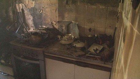 У Львові горіла квартира в багатоповерхівці