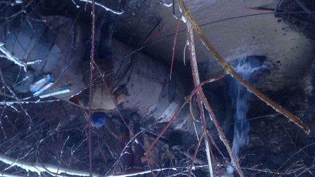 Львівська мерія оприлюднила фото масштабної аварії на водогоні