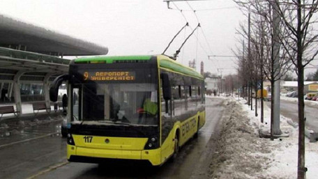 У Львові через ремонтні роботи не курсують тролейбуси №2, 9 і 10