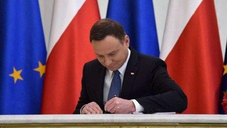 Президент Польщі схвалив будівництво стіни на кордоні з Україною і Білоруссю через АЧС