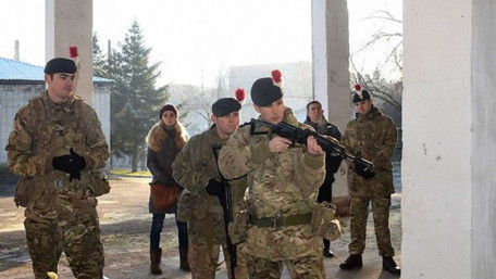 Інструктори з Великої Британії почали готувати українських військових правоохоронців