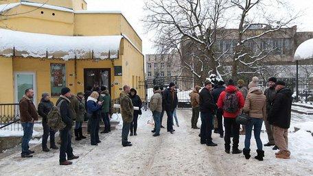 Під ТРК «Львів» відбувся пікет через планові скорочення журналістів