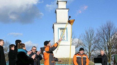 На Жовківщині відкрили газопровід, який будували 9 років