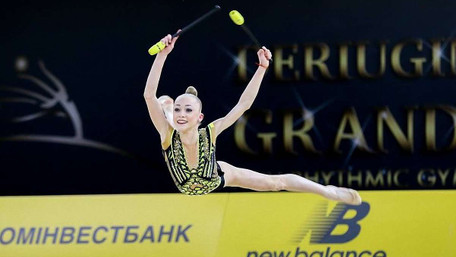Завдяки гімнастці зі Львова українські юніорки вибороли перше місце міжнародного турніру у Києві