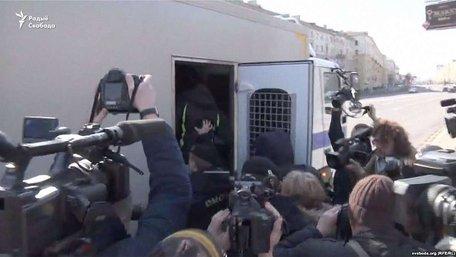 У Білорусі на святкуванні «Дня волі» по всій країні затримують активістів