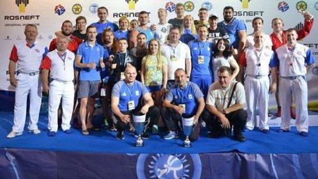 Збірна України з самбо тріумфально виступила на Чемпіонаті Європи