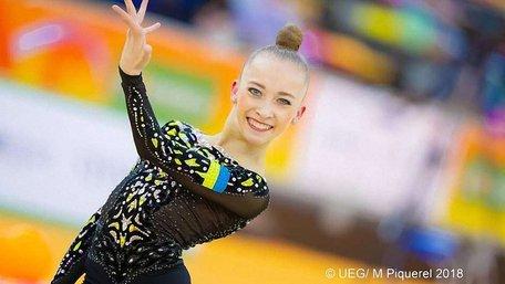 Львівська гімнастка Христина Погранична здобула чотири медалі на Чемпіонаті Європи