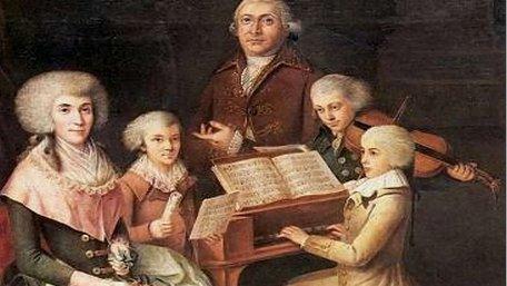 Моцарт та його родина