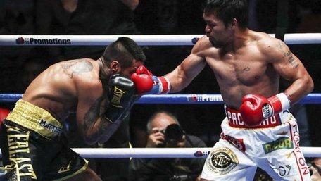 Менні Пак'яо знову став чемпіоном світу з боксу