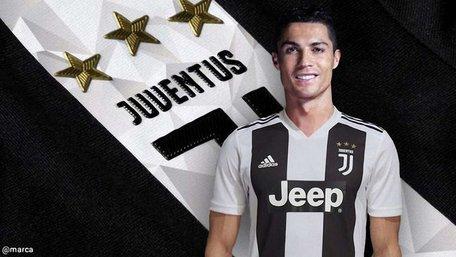 Туринський «Ювентус» за один день продав іменних футболок Кріштіану Роналду на €55 млн