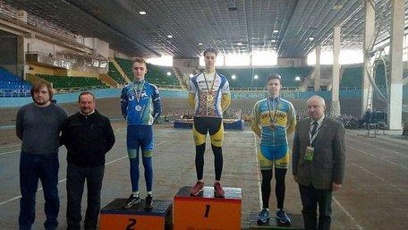Студент зі Львова став срібним призером на Чемпіонаті Європи з велоспорту на треку