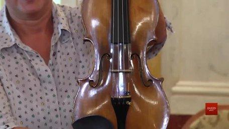 До Львова вперше привезли із Зальцбурга оригінальну скрипку Вольфганга Амадея Моцарта