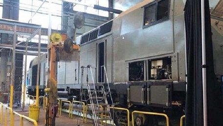 Локомотиви General Electric для України отримали назву «Тризуб»