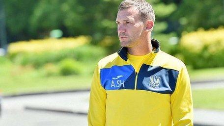 Андрій Шевченко продовжив контракт із збірною України з футболу