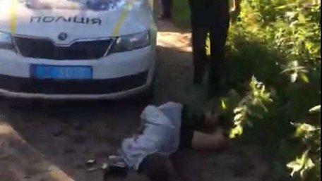 Патрульні затримали викрадачів львівського таксі