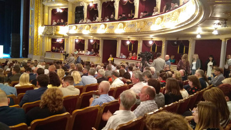 Петро Порошенко запізнився на урочисте відкриття Форуму видавців у Львові на 50 хвилин