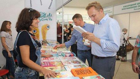 На 25 Book Forum мер Львова придбав понад два десятки книжок