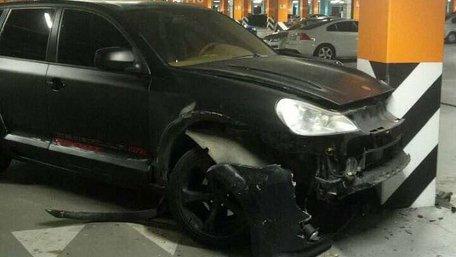 Гравець ФК «Олімпік» розбив Porsche і покинув місце ДТП, запізнюючись на матч УПЛ