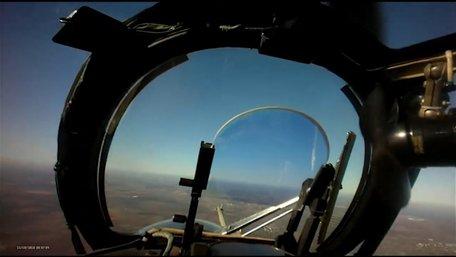 З'явилося відео збиття українськими військовими російського безпілотника над Лисичанськом