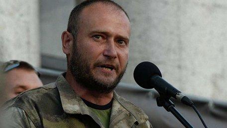 Дмитро Ярош оголосив про виведення своїх добровольців з передової на Донбасі