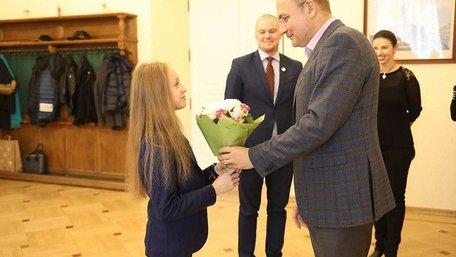 Гімнастку Христину Пограничну нагородили Золотим гербом  Львова і грошовою премією
