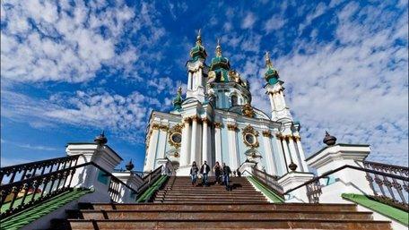 Невідомі спробували підпалити Андріївську церкву у Києві