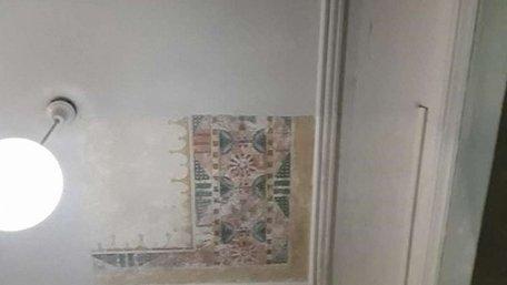 У 1-й міській поліклініці Львова знайшли унікальні розписи фабрики Івана Левинського