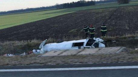 У Словенії зіткнулися два мікроавтобуси з українцями: загинула 63-річна жінка