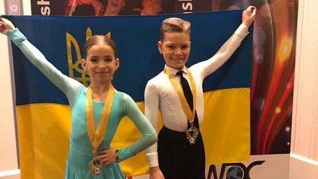 Пара 9-річних дітей зі Стрия стала чемпіонами світу з бальних танців у двох програмах