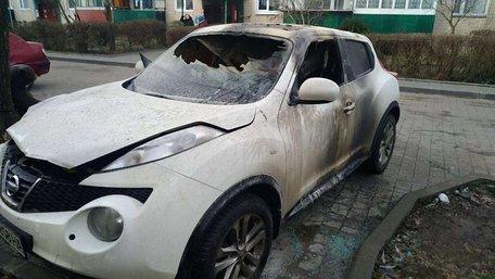 30-річна львів'янка заявила про підпал невідомими її авто, припаркованого на Науковій