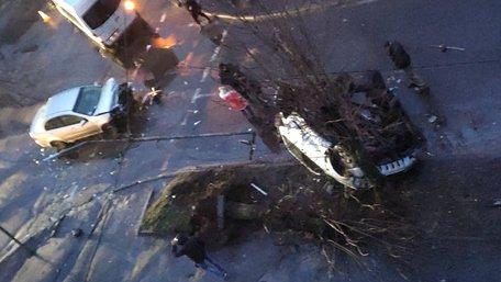 У серйозній ДТП в центрі Червонограда постраждали двоє водіїв